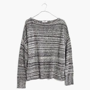 Madewell Knitted Threadmix Boatneck Sweater
